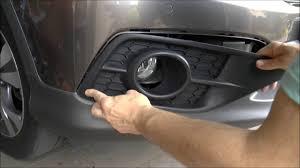2018 Honda Crv Fog Light Bulb Replacement How To Remove Replace Bumber Foglight Trim Honda Cr V