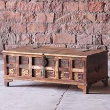 modish furniture. Aimee Reclaimed Wood Trunk Coffee Table / Storage Modish Furniture