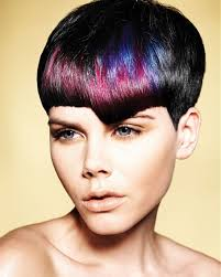 Short Hair With Color Ideas As