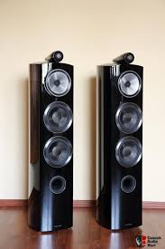 bowers and wilkins 804 d3. bowers \u0026 wilkins b\u0026w 804 d3 diamond black gloss and