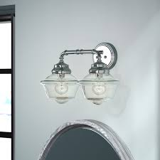 Bathroom Vanities Lights Adorable Bathroom Lighting You'll Love Wayfair