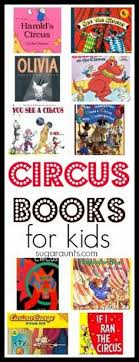 circus books for kids book activitiescircus