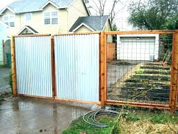 metal fence privacy panels corrugated metal fencing privacy fence cost how much does a sheet panels