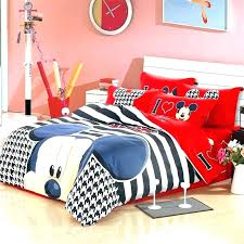 mickey mouse twin comforter set clubhouse bedding bed sheets co