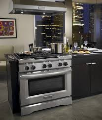 Professional Ovens For Home Kitchenaid Kdrs467vss Review 36 Commercial Style Dual Fuel Range