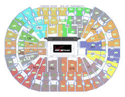 Acc Basketball Rx 2016 Seating Chart Acc Tournament