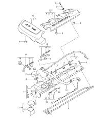 porsche cayenne parts m48 00 50 valve cover engine cover group 1 nr 7 03