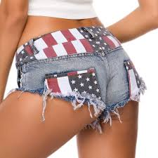 <b>Yollmart</b> Women's High Waist Denim Jeans Shorts Mini Hot Pants ...