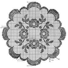 Rose Bowl Doily Pattern 7111 Crochet Patterns