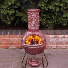 chiminea clay outdoor fireplace portable chiminea outdoor for portable outdoor fireplace
