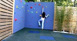diy kids climbing wall backyard garden ideas build outdoor toddler gym diy kids climbing wall