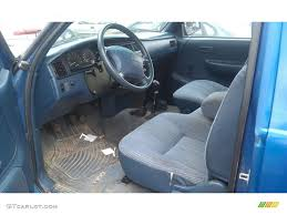 Blue Interior 1995 Toyota T100 Truck DX Extended Cab 4x4 Photo ...