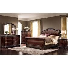 Beautiful Queen Sleigh 4 Piece Bedroom Set