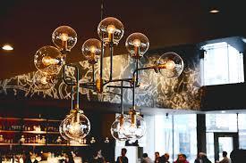 kimpton seattle outlier restaurant chandelier
