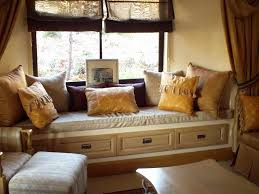 Window Seat Living Room Door And Window Beautiful Window Seat Designs For Your Home