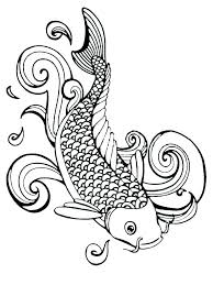 Rainbow Fish Coloring Pages Printable Coloring Pages Fish Fish