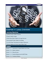Foundations Echapter 11 Legal Citations Pages 1 23 Text Version