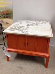 coffee table with matching side tables painted in white chalk painted and finished with antique wax call celia at 561 746 3935 for size and