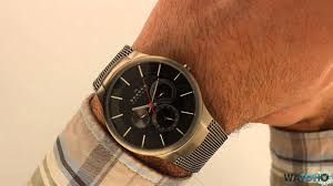 skagen men s titanium multifunction grey watch 809xlttm hands on skagen men s titanium multifunction grey watch 809xlttm hands on review