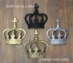 com king crown or queen prince wall art princess metal