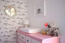 safari wallpaper nursery. Unique Wallpaper Real Rooms A Modern Animals Nursery  Wallpaper By Beware The Moon On Safari Wallpaper E
