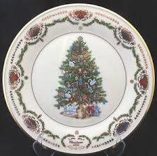 Lenox Christmas Tree Scotch Pine Commemorative Plate 1977 From Lenox Christmas Tree Plates