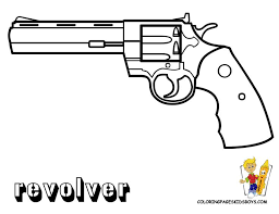 Small Picture 18 best Gun coloring pages images on Pinterest Coloring pages