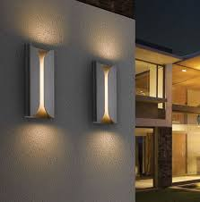 modern outside wall lights contemporary outdoor lighting f 33 in wow collection with graceful u15