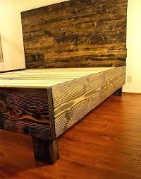 platform bed frame wooden rustic solid wood platform bed frame headboard reclaimed wood style bedroom furniture reclaimed bed frame wood twin platform bed