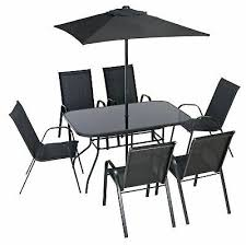 argos home sicily 6 seater metal patio