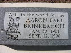 Aaron Bart Brinkerhoff (1981-1990) - Find A Grave Memorial