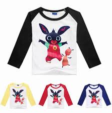 2019 2017 <b>Summer</b> Boys Girls <b>Cartoon</b> T Shirts <b>Bing</b> Bunny ...