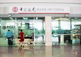 money cost in china bank acount credit card traveler s cheque