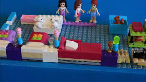 Lego Bedroom Vanja 1st Movie Lego Friends Go To Bed Youtube