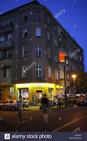 Berlin Deutschland Eine Bar Ecke In Berlin