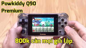 Chi tiết Máy chơi game Powkiddy Q90 Premium Việt hoá giá 800k: Có gì hay ?  - YouTube