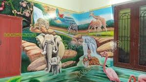 Small Picture Wall art in chennai kids play school artist in chennai vellore