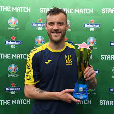 """UEFA EURO on Twitter: """"🇺🇦 Andriy Yarmolenko takes the prize after  inspiring Ukraine to victory with a goal & an assist ⚽️🅰️ 🤔 Did you  predict that? @Heineken 