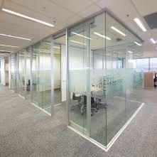 aluminum office partitions. multiglaze suite aluminum office partitions