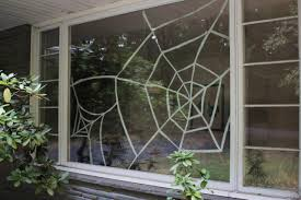 How To Make A Giant Spider Web Diy Window Spiderweb For Halloween Diy Network Blog Made