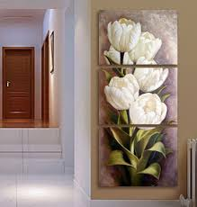 3 piece living room modern wall flower decorative wall art pictures print on canvas no frame 40x50cmx3pcs on decorative modern wall art with 3 piece living room modern wall flower decorative wall art pictures