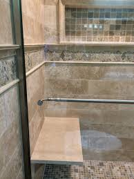 floating stone shower bench