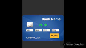 official valid credit card generator