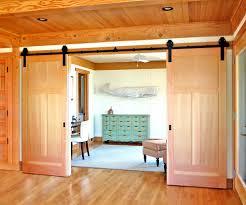 Barn Door In Kitchen Double Barn Doors Kitchen Traditional With Barn Doors Blinds