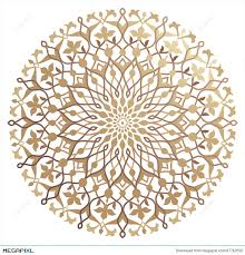 Arabic Pattern Arabic Pattern Illustration 47742555 Megapixl