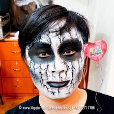 makeup ghost face painting singapore 2