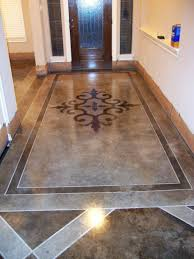 Painted Concrete Floors Awesome Painted Concrete Floors Contemporary Home Design Ideas