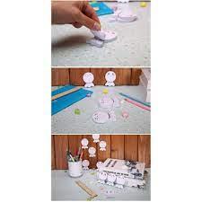 Bán Combo 2 tập giấy ghi chú hình búp bê cầu mưa 6009