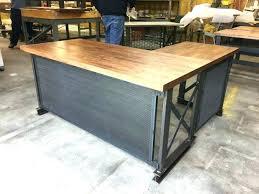 industrial office desk. Industrial Office Desk Medium Size Of Desks Incredible Executive