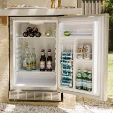 Outdoor Kitchen Refrigerator Coyote 21 Inch 41 Cu Ft Right Hinge Outdoor Rated Compact